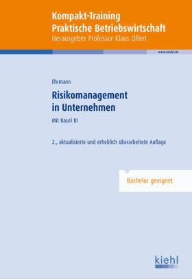 Ehrmann | Risikomanagement in Unternehmen | Buch | sack.de