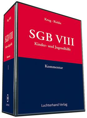 Krug / Riehle | SGB VIII | Loseblattwerk | sack.de