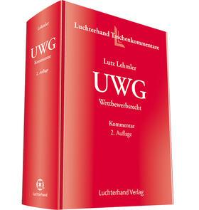 Lehmler   UWG - Wettbewerbsrecht   Buch   sack.de