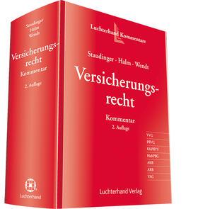 Staudinger / Halm / Wendt | Versicherungsrecht Kommentar | Buch | sack.de