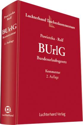 Powietzka / Rolfs | Bundesurlaubsgesetz | Buch | Sack Fachmedien