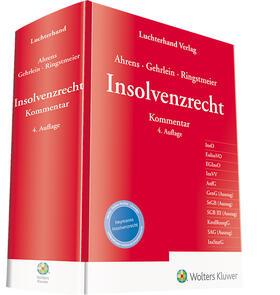 Ahrens / Gehrlein / Ringstmeier | Insolvenzrecht | Buch | sack.de