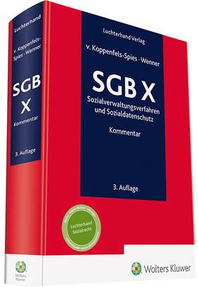 Koppenfels-Spies / Wenner | SGB X Kommentar | Buch | sack.de