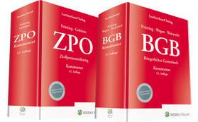 Gehrlein / Prütting / Wegen | Bundle BGB Kommentar 15. Auflage und ZPO Kommentar 12. Auflage | Buch | sack.de