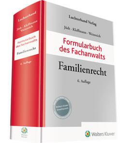 Jüdt / Kleffmann / Weinreich | Formularbuch des Fachanwalts Familienrecht | Buch | sack.de