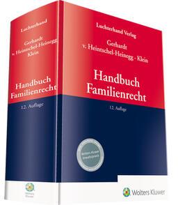 Gerhardt / Klein / Heintschel-Heinegg   Handbuch Familienrecht   Buch   sack.de