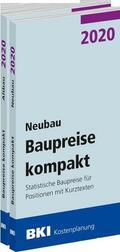 BKI Baupreise kompakt 2020 - Neubau + Altbau, 2 Bde.