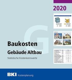 BKI Baukosten Gebäude Altbau 2020   Buch   sack.de