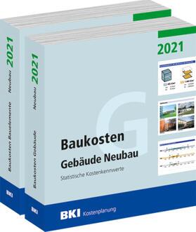 BKI Baukosten Gebäude + Bauelemente Neubau 2021 - Kombi Teil 1-2   Buch   sack.de