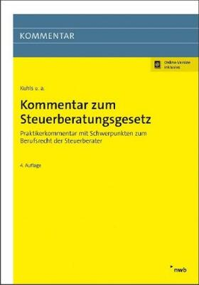 Kuhls / Appich / Busse   Kommentar zum Steuerberatungsgesetz   Buch   sack.de