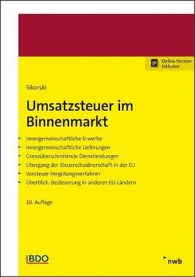 Sikorski | Umsatzsteuer im Binnenmarkt | Buch | sack.de
