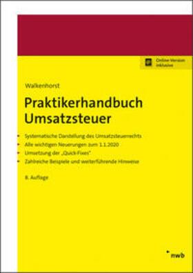 Walkenhorst | Praktikerhandbuch Umsatzsteuer | Online-Buch | sack.de