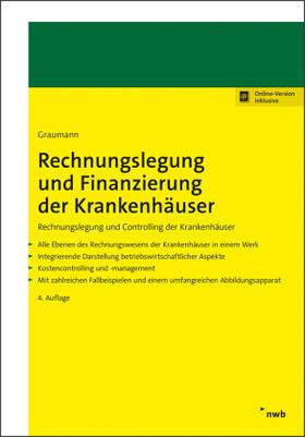 Graumann   Rechnungslegung und Finanzierung der Krankenhäuser   Buch   sack.de