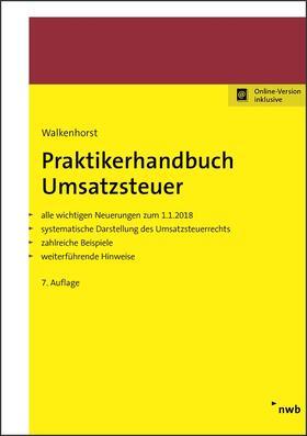 Walkenhorst | Praktikerhandbuch Umsatzsteuer | Buch | Sack Fachmedien