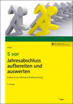 Weber   5 vor Jahresabschluss aufbereiten und auswerten   Buch   sack.de
