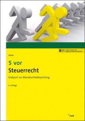 Weber   5 vor Steuerrecht   Buch   sack.de