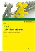 5 vor Mündliche Prüfung, m. 1 Buch, m. 1 Online-Zugang