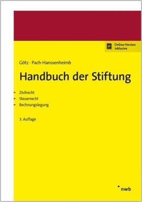 Götz / Pach-Hanssenheimb | Handbuch der Stiftung | Buch | Sack Fachmedien