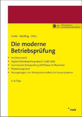Nüdling / Olles | Die moderne Betriebsprüfung | Buch | sack.de