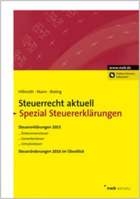 Steuerrecht aktuell Spezial Steuererklärungen 2015 | Buch