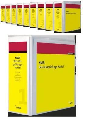   NWB Betriebsprüfungs-Kartei, mit Fortsetzungsbezug   Loseblattwerk   sack.de