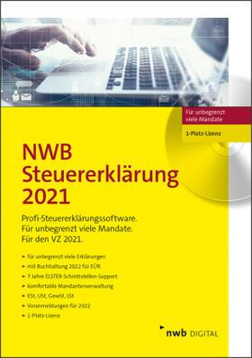 NWB Steuererklärung 2020 - 1-Platz-Lizenz, CD-ROM   Sonstiges   sack.de