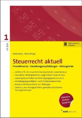 Dietsch / Fischer LLB / Gladitsch | Steuerrecht aktuell 1/2020 | Buch | sack.de