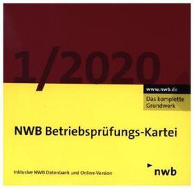Oberfinanzdirektion Düsseldorf | NWB Betriebsprüfungs-Kartei DVD 1/2020, DVD-ROM | Sonstiges | sack.de
