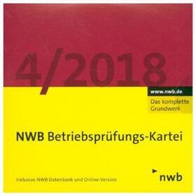 Oberfinanzdirektion Düsseldorf   NWB Betriebsprüfungs-Kartei DVD, 1 DVD-ROM   Sonstiges   sack.de