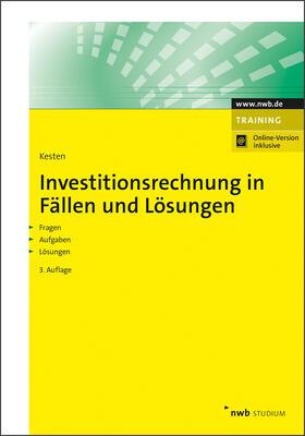 Kesten   Investitionsrechnung in Fällen und Lösungen   Online-Buch   sack.de