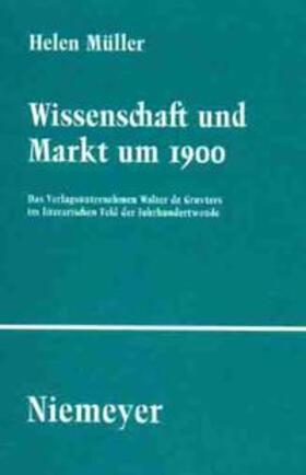Müller | Wissenschaft und Markt um 1900 | Buch | sack.de