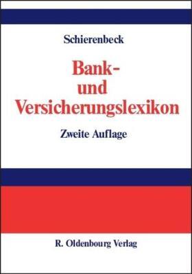 Schierenbeck   Bank- und Versicherungslexikon   Buch   sack.de
