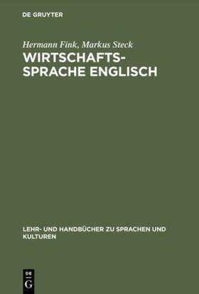 Fink / Steck   Wirtschaftssprache Englisch   Buch   sack.de