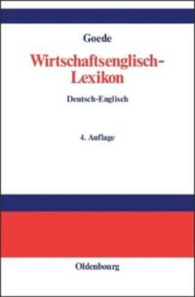 Goede   Wirtschaftsenglisch-Lexikon   Buch   sack.de