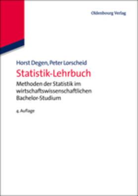 Lorscheid / Degen | Statistik-Lehrbuch | Buch | sack.de