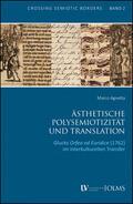 Agnetta |  Ästhetische Polysemiotizität und Translation | Buch |  Sack Fachmedien