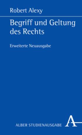 Alexy | Begriff und Geltung des Rechts | Buch | sack.de