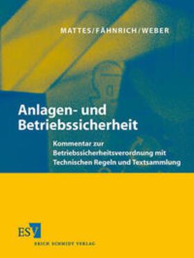 Mattes / Fähnrich / Weber   Anlagen- und Betriebssicherheit   Loseblattwerk   sack.de