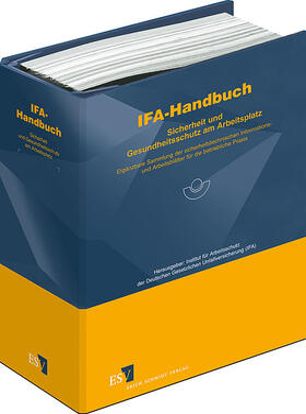 IFA-Handbuch – Sicherheit und Gesundheitsschutz am Arbeitsplatz | Loseblattwerk | sack.de