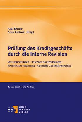 Becker / Kastner   Prüfung des Kreditgeschäfts durch die Interne Revision   Buch   sack.de