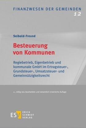 Seibold-Freund | Besteuerung von Kommunen | Buch | Sack Fachmedien