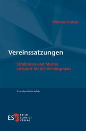 Röcken | Vereinssatzungen | Buch | sack.de