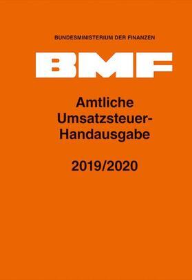 Amtliche Umsatzsteuer-Handausgabe 2019/2020 | Buch | sack.de