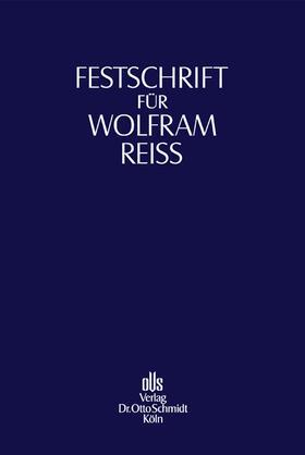 Kirchhof / Nieskens | Festschrift für Wolfram Reiß | Buch