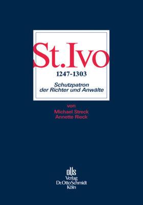 Streck / Rieck   St. Ivo (1247-1303)   Buch   sack.de