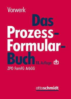 Vorwerk | Das Prozessformularbuch | Buch | sack.de