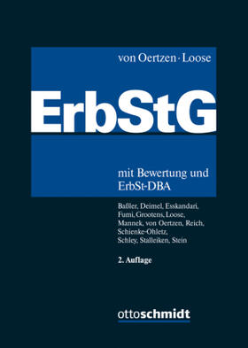 von Oertzen / Loose | Erbschaftsteuer- und Schenkungsteuergesetz: ErbStG | Buch | sack.de