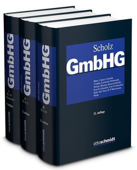 Scholz | GmbHG: GmbH-Gesetz, Bände I-III Gesamtabnahmeverpflichtung | Buch | sack.de