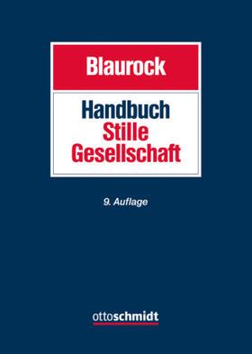 Blaurock | Handbuch Stille Gesellschaft | Buch | sack.de