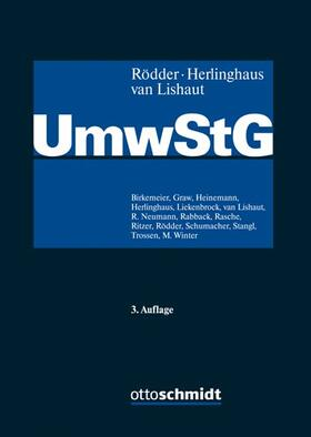 Rödder / Herlinghaus / van Lishaut | Umwandlungssteuergesetz: UmwStG | Buch | Sack Fachmedien